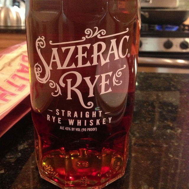 Buffalo Trace Distillery Sazerac Kentucky Straight Rye Whiskey NV