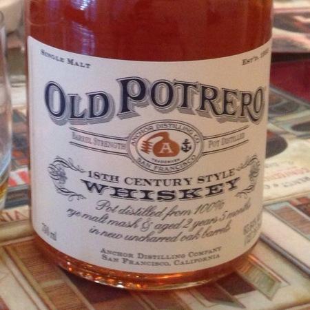 Anchor Distilling Co. Old Potrero 18th Century Style Rye Whiskey NV