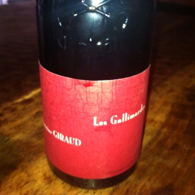 Les Gallimardes Châteauneuf-du-Pape Red Rhone Blend 2011