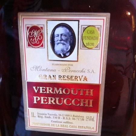 Montana -Perucchi  Gran Reserva Vermouth Perucchi