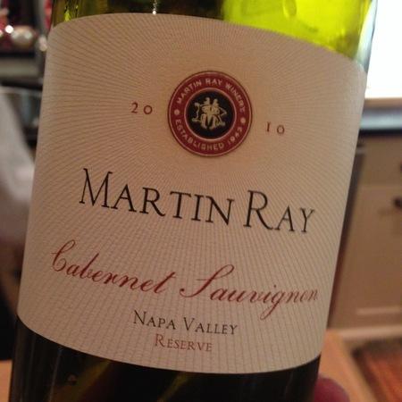 Martin Ray Reserve Napa Valley Cabernet Sauvignon 2014 (750ml 12bottle)