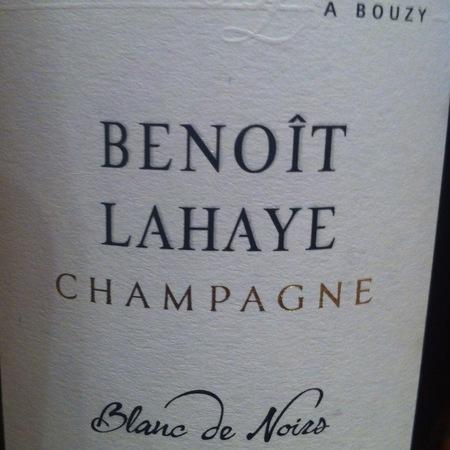 Benoît Lahaye Blanc de Noirs Champagne Pinot Noir NV