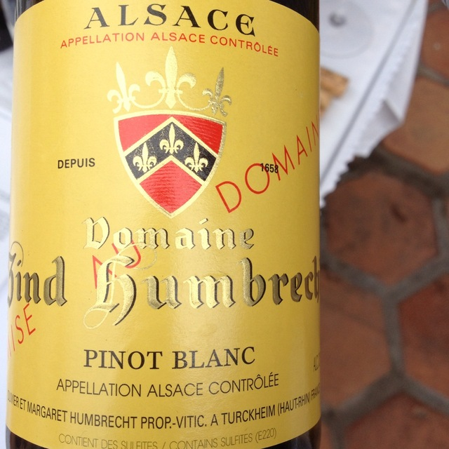 Domaine Zind Humbrecht Alsace Pinot Blanc 2014