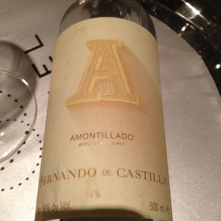 Rey Fernando de Castilla Antique Amontillado Sherry NV (500ml)