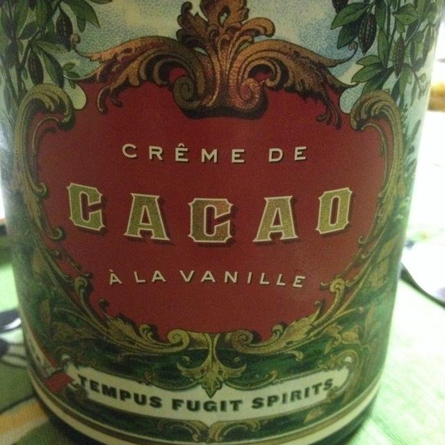 Creme de Cacao a la Vanille Liqueur NV