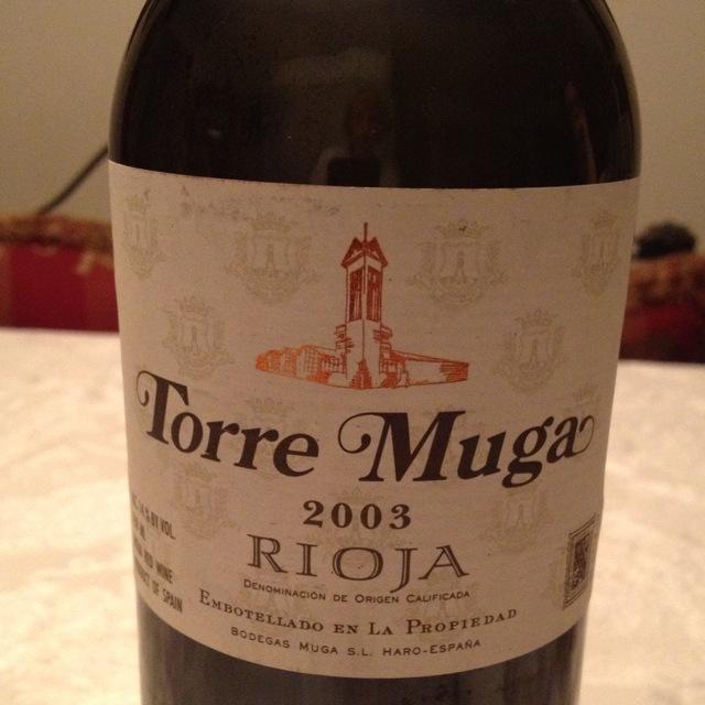Bodegas Muga Torre Muga Rioja Tempranillo Blend 2003