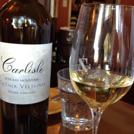 Carlisle Winery & Vineyards Steiner Vineyard Grüner Veltliner  2014