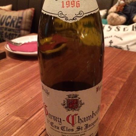 Domaine Fourrier Clos St. Jacques Vieilles Vignes Gevrey-Chambertin 1er Cru Pinot Noir 1996