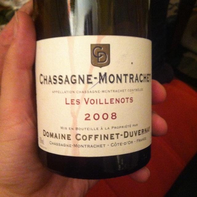 Les Voillenots Chassagne-Montrachet Pinot Noir 2013