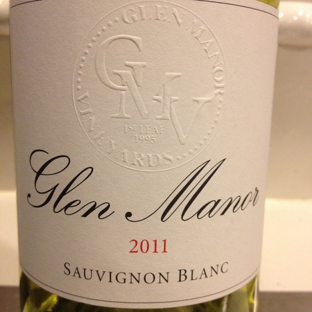 Glen Manor Vineyards Sauvignon Blanc 2016