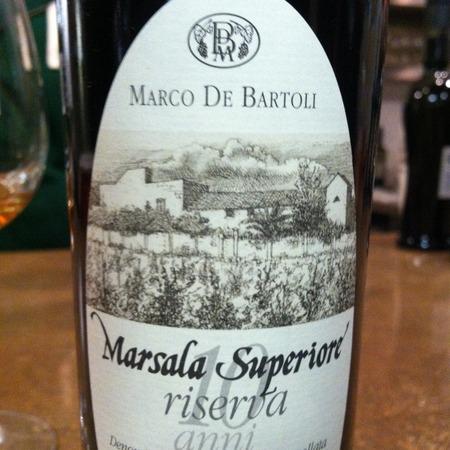 Marco De Bartoli 10 anni Riserva Marsala Superiore Grillo NV (500ml)