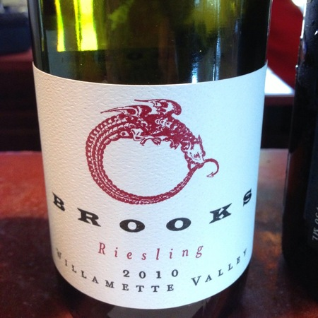 Brooks Willamette Valley Riesling 2015