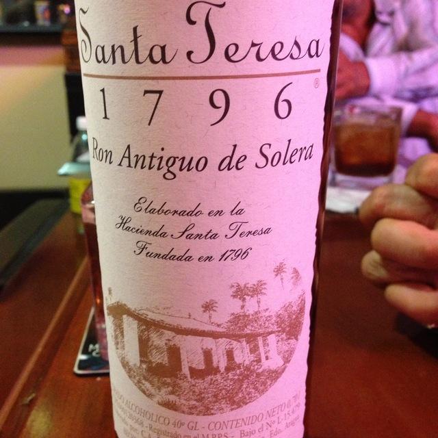 Santa Teresa 1796 Ron Antiguo De Solera Rum NV
