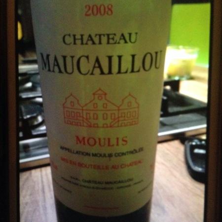 Château Maucaillou Moulis en Médoc Red Bordeaux Blend 2008
