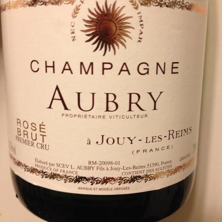 L. Aubry Fils Brut Rosé 1er Cru Champagne Blend NV