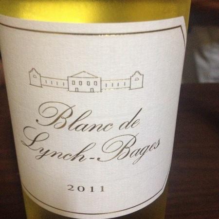 Château Lynch-Bages Blanc de Lynch-Bages White Bordeaux Blend 2015