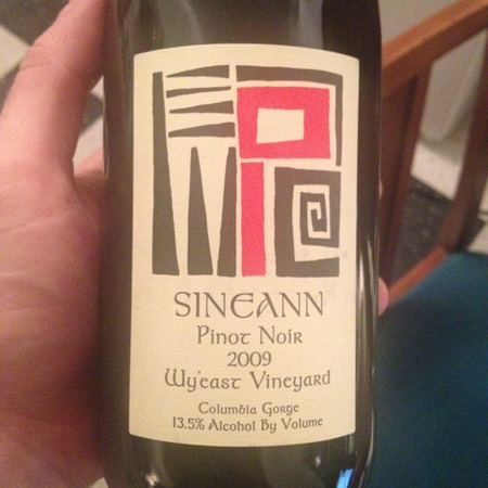 Sineann Wy'east Vineyard Pinot Noir 2015