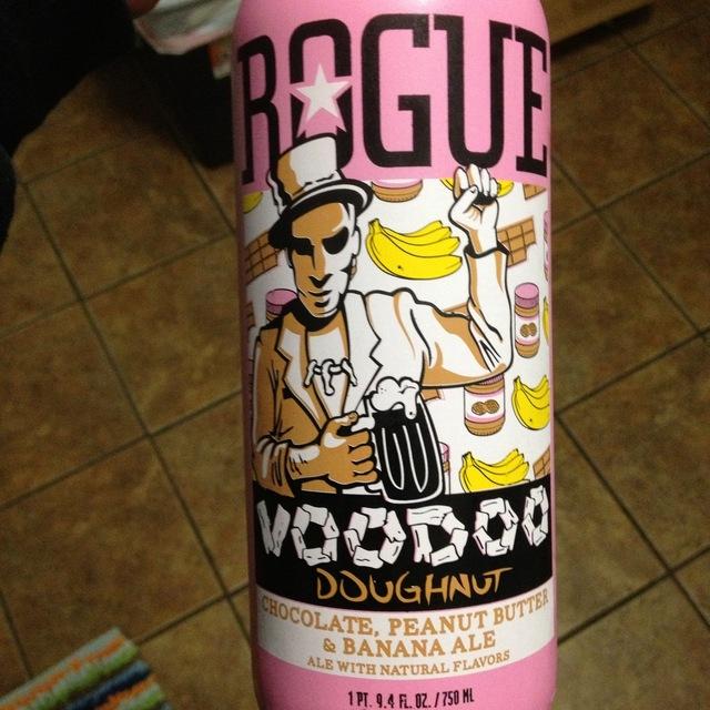 Voodoo Doughnut Chocolate, Peanut Butter & Banana Ale NV