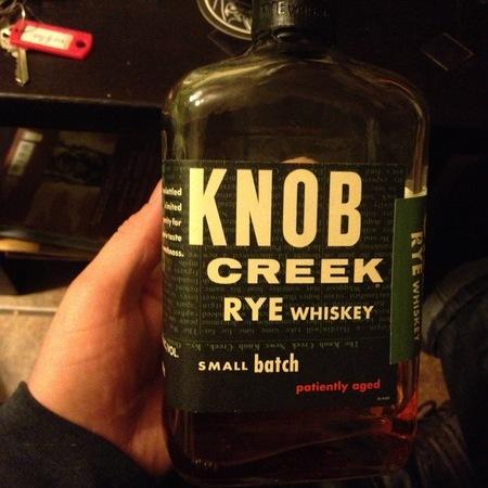 Jim Beam Distillery Knob Creek Small Batch Rye Whiskey NV