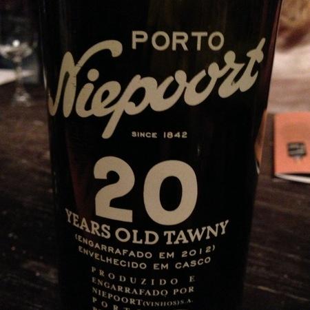 Niepoort (Vinhos) S.A. 20 Year Old Tawny Porto  NV