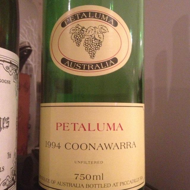 Coonawarra Cabernet-Merlot Blend 2001