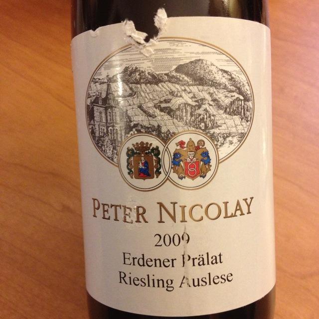 Peter Nicolay Erdener Prälat Auslese Riesling NV