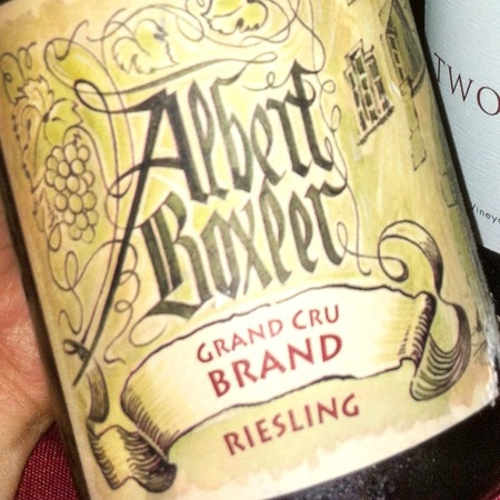 Albert Boxler Grand Cru Brand Riesling 2013