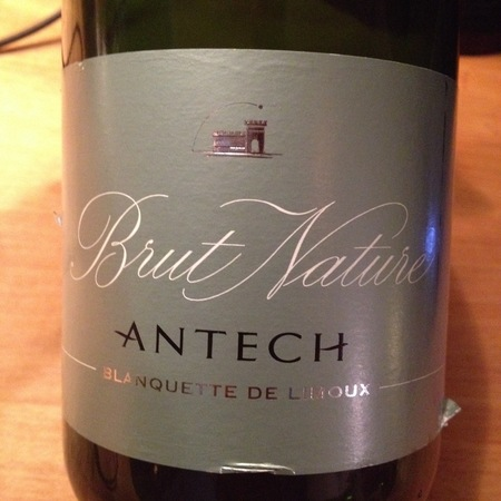 Antech Brut Nature Blanquette de Limoux Mauzac NV