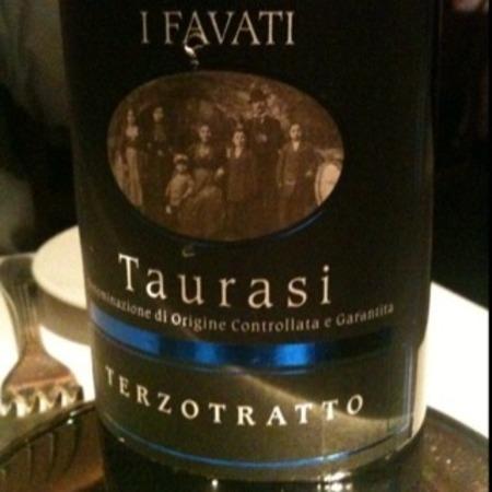 I Favati Terzotratto Taurasi Aglianico 2008