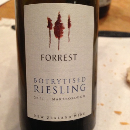 Forrest Botrytised Marlborough Riesling 2012