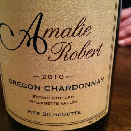 Amalie Robert Her Silhouette Willamette Valley Chardonnay 2016