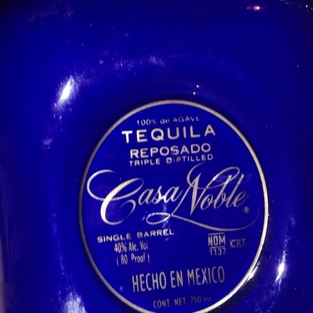 Casa Noble Reposado Tequila NV
