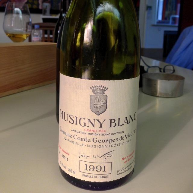 Musigny Blanc Grand Cru Chardonnay 2013