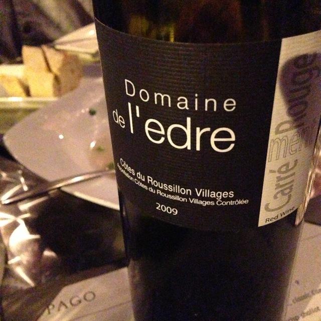 Domaine de l'Edre l'Edre Côtes du Roussillon Villages Syrah Blend 2015