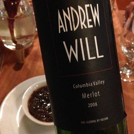 Andrew Will Merlot 1995