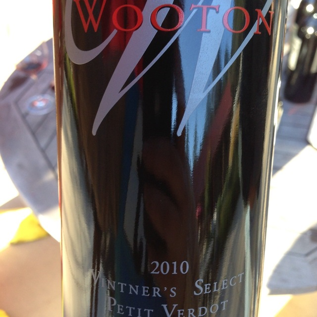 Smith Wooton Vintner's Select Petit Verdot 2010
