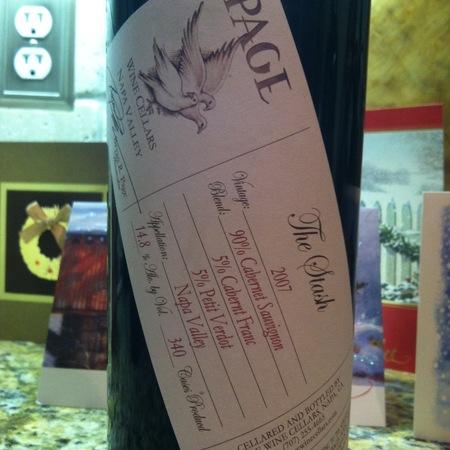Page Wine Cellars The Stash Napa Valley Cabernet Sauvignon Blend 2002