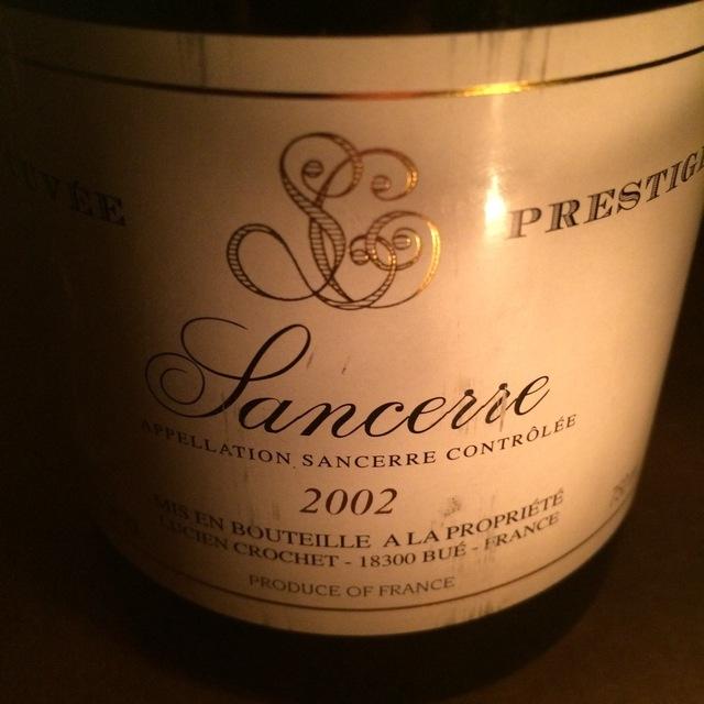 Cuvée Prestige Sancerre Sauvignon Blanc 2002