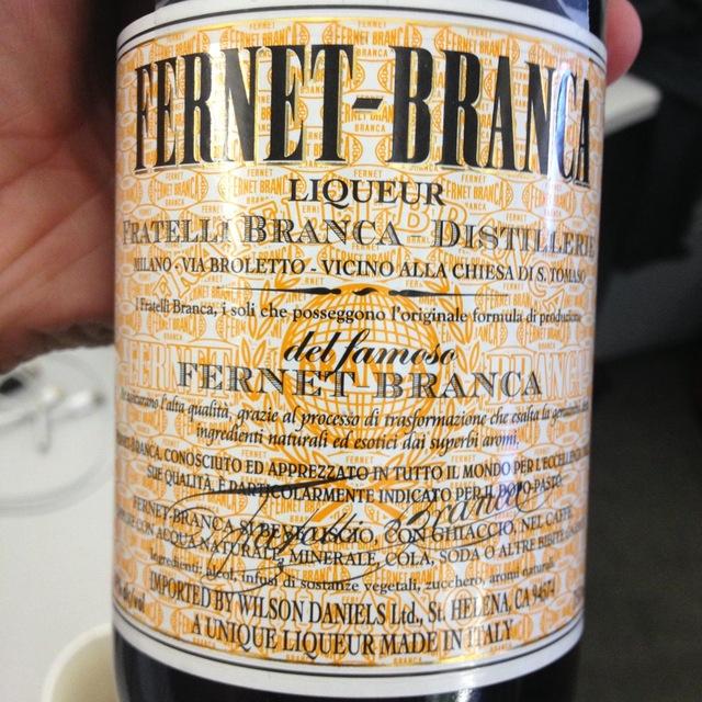 Fratelli Branca Distillerie Fernet-Branca Liqueur NV