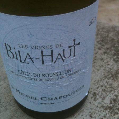 Michel Chapoutier Les Vignes de Bila-Haut Côtes du Roussillon Blanc Grenache Blanc Blend 2015