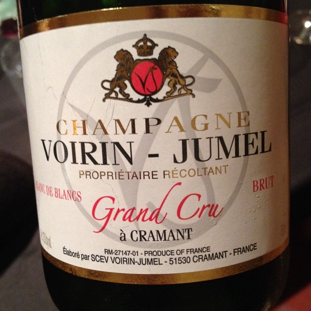 Voirin-Jumel Brut Blanc de Blancs Grand Cru Champagne Chardonnay NV