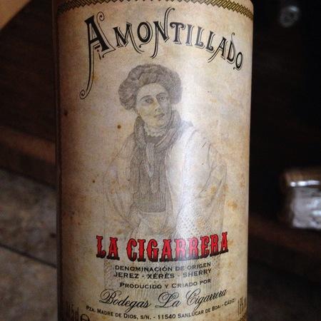 Bodegas La Cigarrera Amontillado  NV