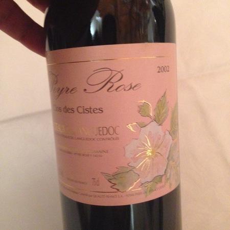 Domaine de Peyre Rose Clos des Cistes Coteaux du Languedoc Grenache Blend  2002