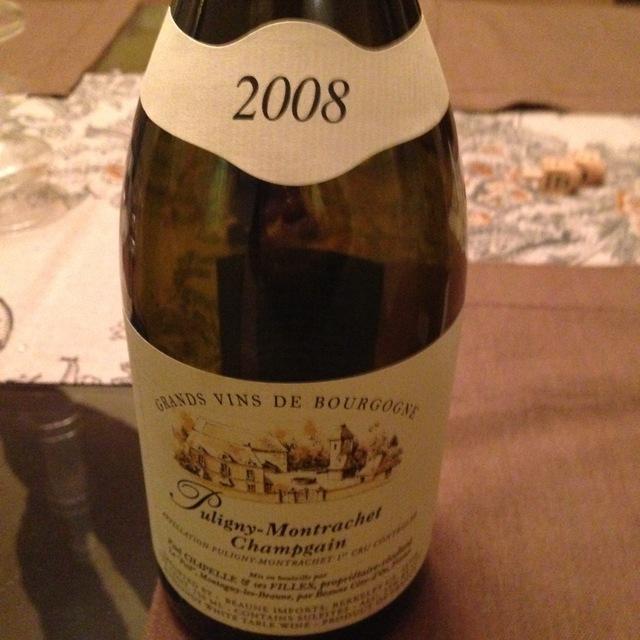 Champgain Puligny-Montrachet 1er Cru Chardonnay 2001