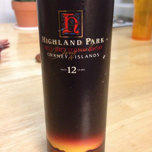 Highland Park Distillery 12 Year Orkney Single Malt Scotch Whisky NV