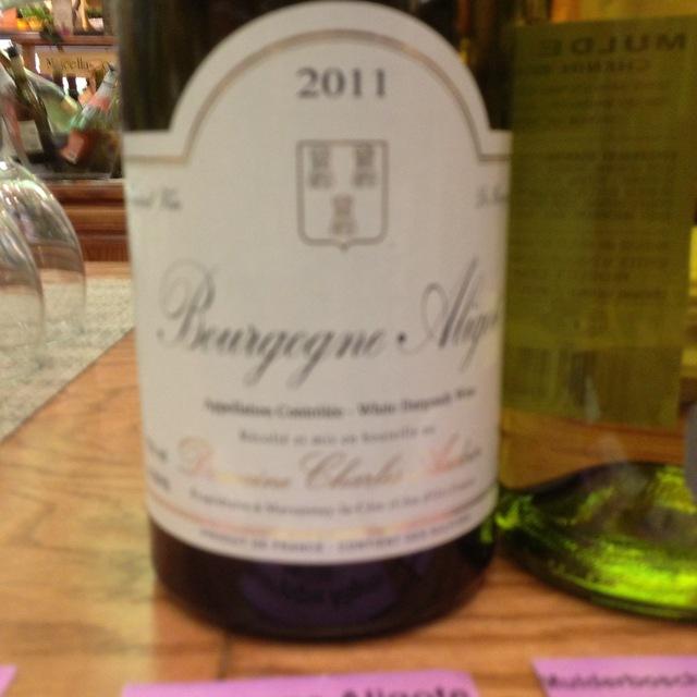 Domaine Charles Audoin Bourgogne Aligoté  2015
