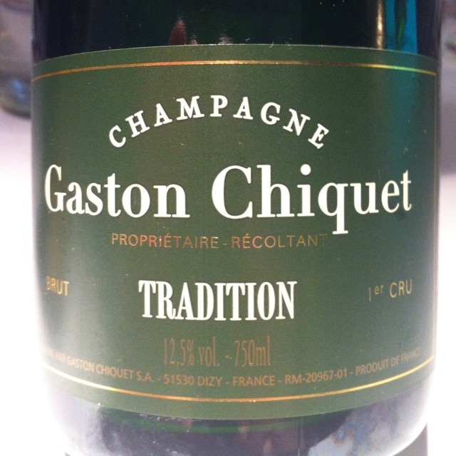 Gaston Chiquet Tradition Brut 1er Cru Champagne NV