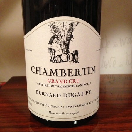 Bernard Dugat-Py Chambertin Grand Cru Pinot Noir 2002