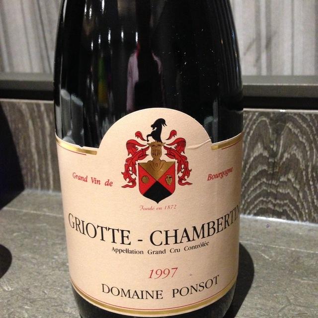 Griotte-Chambertin Grand Cru Pinot Noir 1997