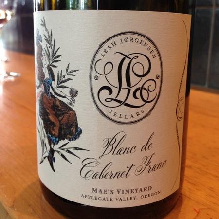 Leah Jorgensen Cellers Mae's Vineyard Blanc de Cabernet Franc 2015